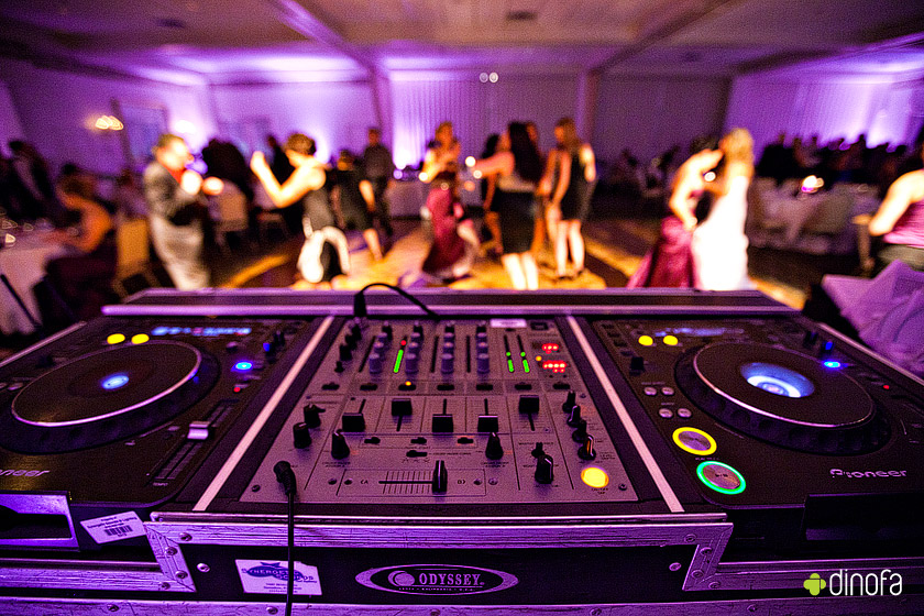 A DJ can bring life to your wedding day, hire one or be the DJ.
